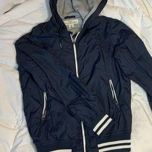 ✨3/$30✨ Zip-Up Hooded Windbreaker